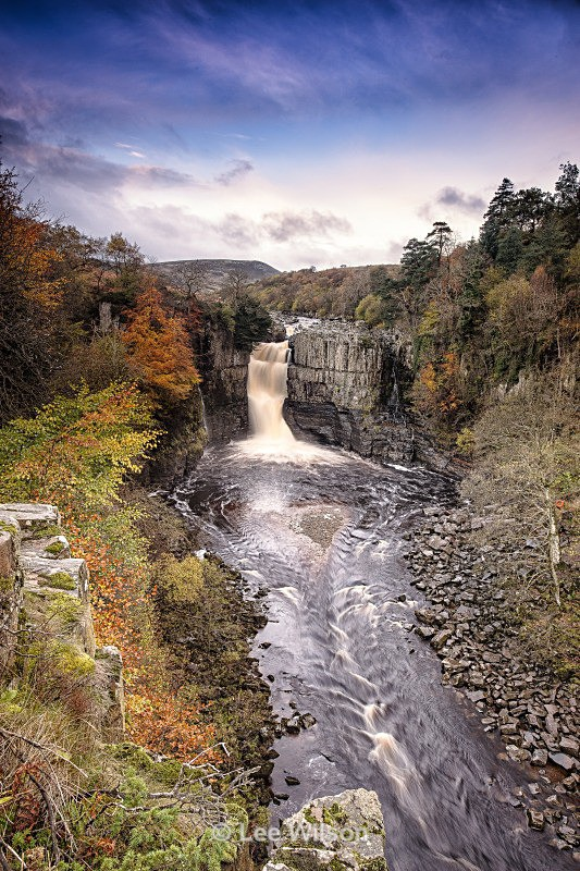 - high force north pennines