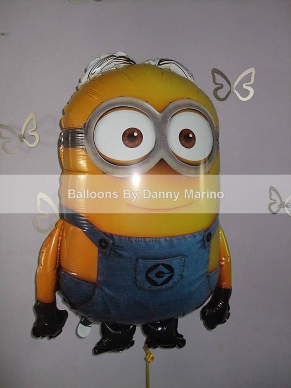 Minion - Birthday Balloons