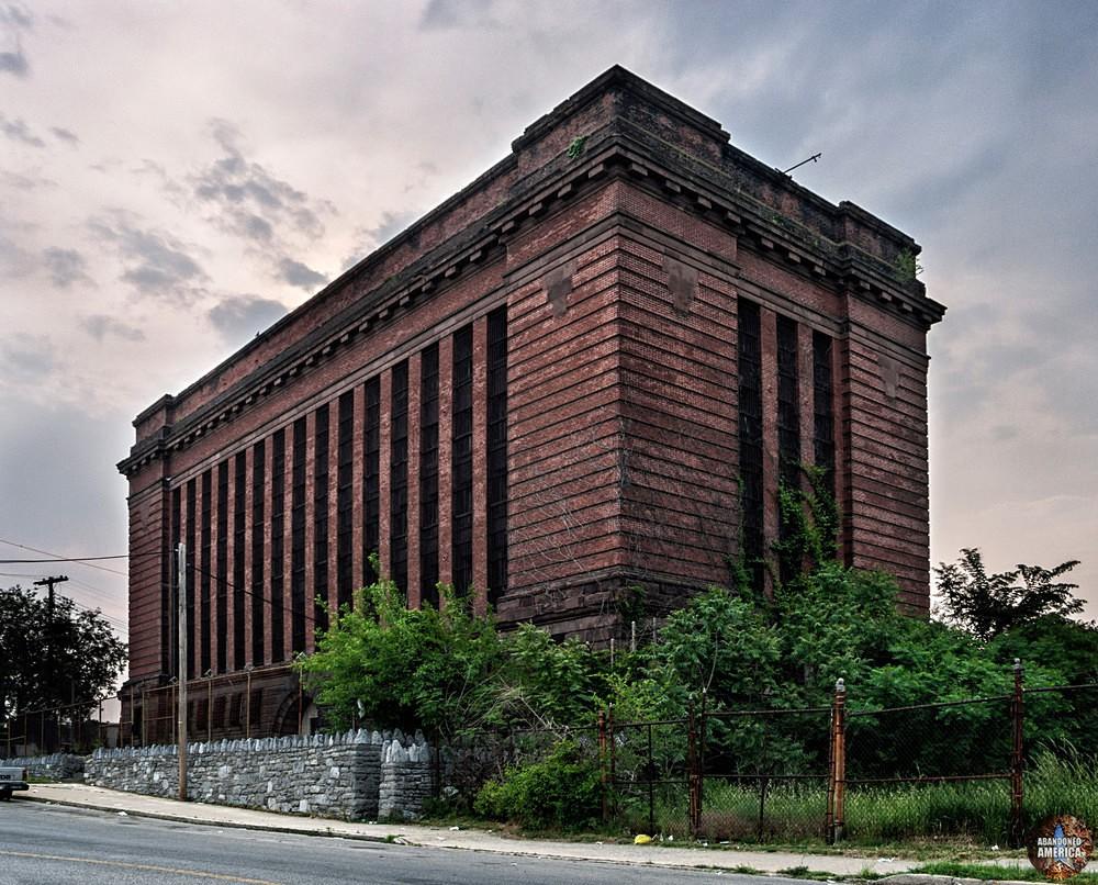 York County Prison (York, PA) | Imposing Exterior - The York County Prison