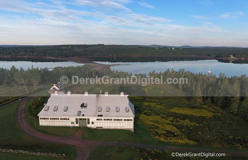 Livestock Barn Ministers Island New Brunswick Canada - Ministers Island