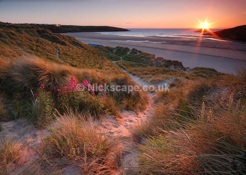 Crantock Beach Sand Dunes   Newquay Coastal Gallery   Landscape Photography UK