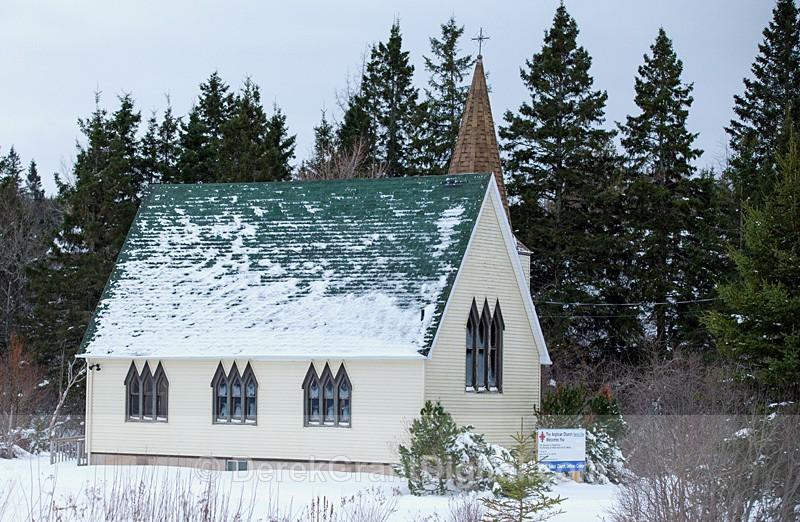 All Saints' Church Jeffries Corner New Brunswick Canada - Churches of New Brunswick