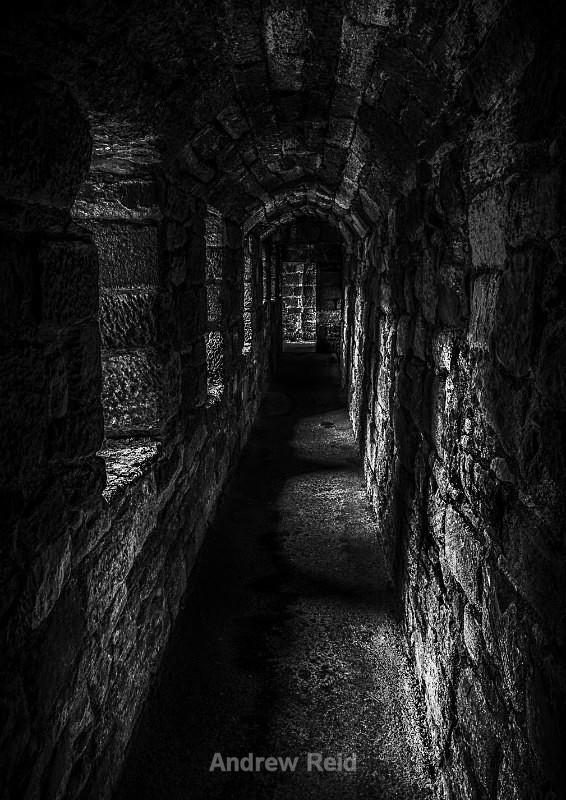 Lost In Time - Black & White