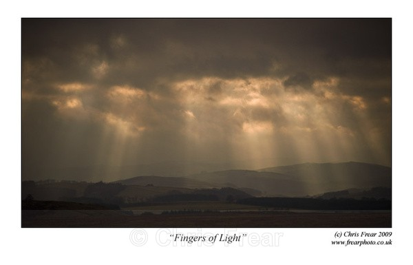 Fingers of Light - Traditional Landscapes