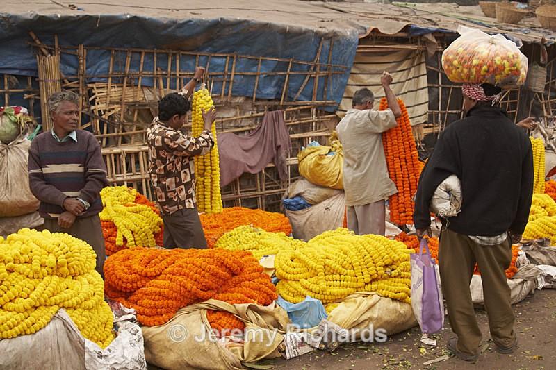 Flower Market - India