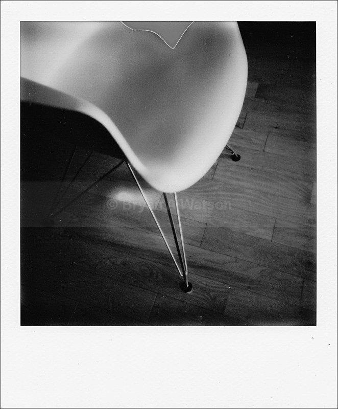 Eames chair - Polaroid