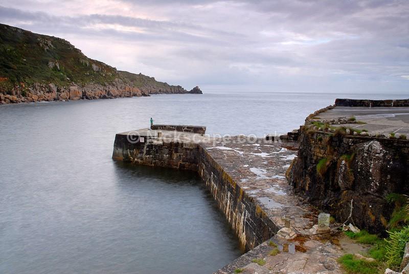 Lamorna Cove Fisherman - Cornwall, UK - Cornwall