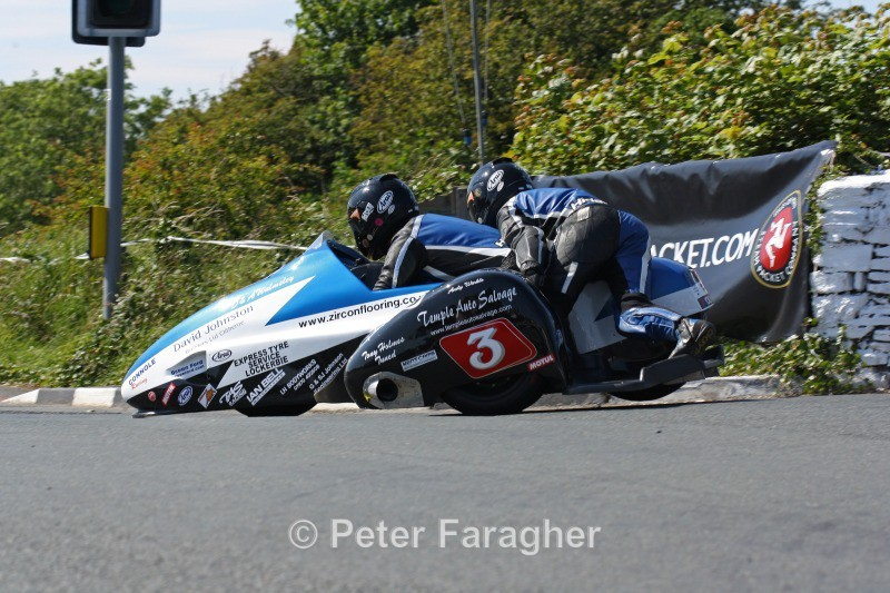 John Holden & Andy Winkle - Southern 100 Road Races