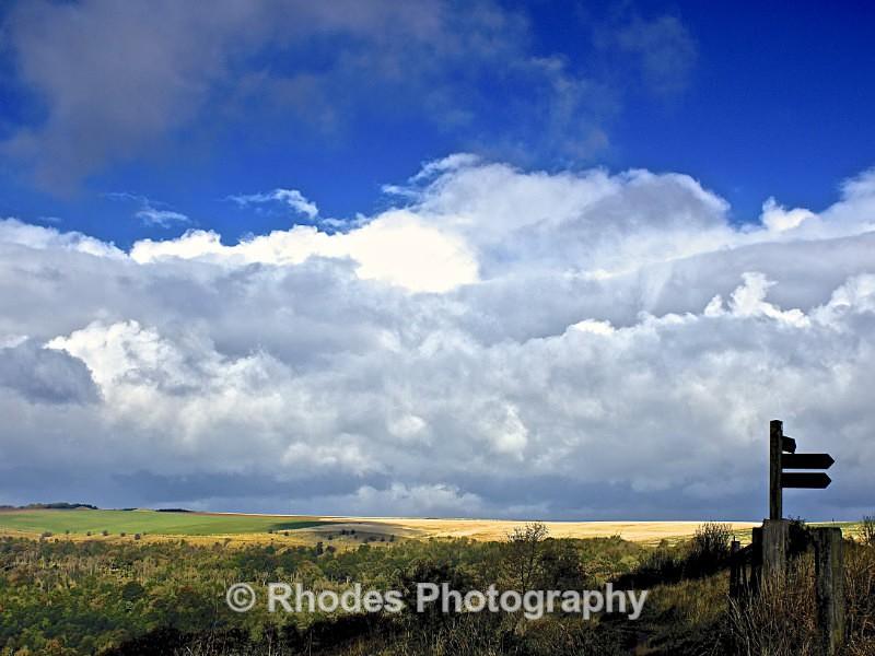 Storm clouds gathering - Landscape Shop