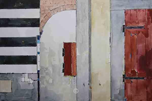 Pistoia Wall. - New Works