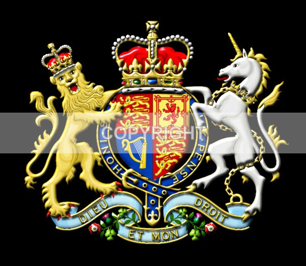 British Royal Coat of Arms - Heritage Family Name and Coat of Arms Store