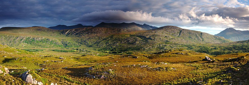 The Kerry Mountains - Landscapes of Ireland - Kerry Lakes and Mountains