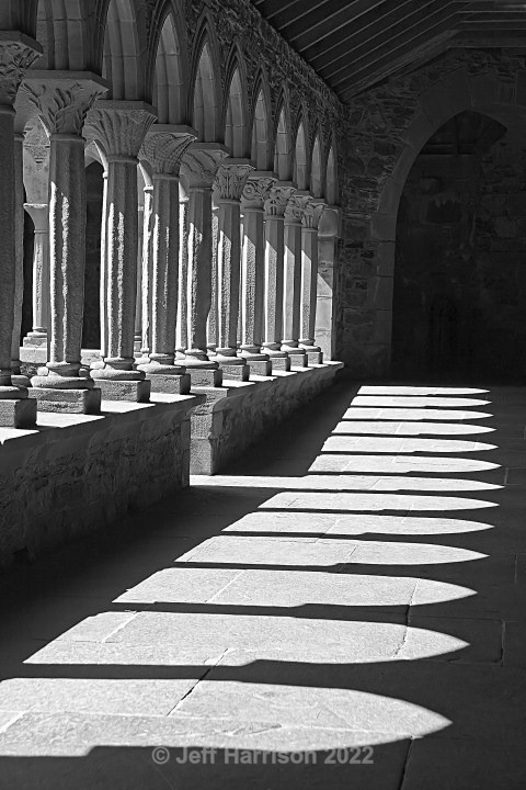 The Cloisters at Iona Abbey (image Iona 01) - Urban Landscapes & Buildings