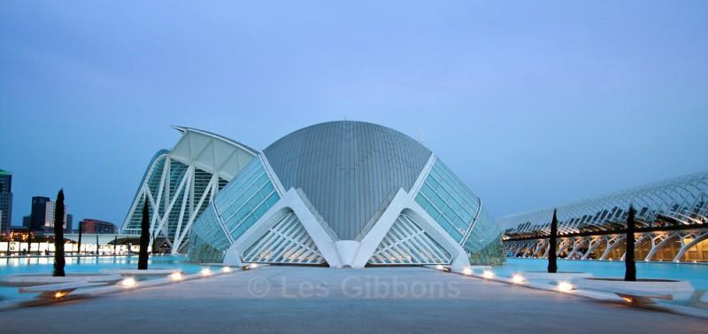 hemisferic evening - Valencia