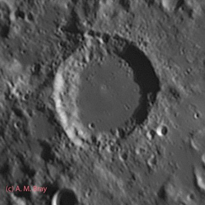 Abulfeda Crater & Crater Chain - Moon: Central Region