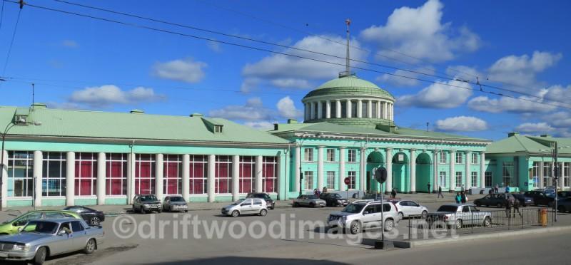Murmansk railway station - Murmansk, Russia