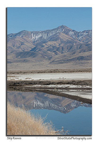 Job's Peak Reflection - Nevada (mostly) Landscapes