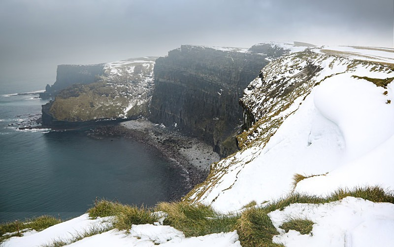 Snow Clouds - Landscapes of Ireland - County Donegal and the Wild Atlantic Way