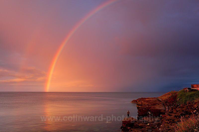 Rainbow Fishing,           Cresswell, Northumberland    ref 0835 - Northumberland