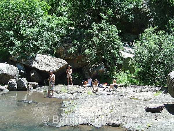 Picnic at the river - Glen Avon Falls