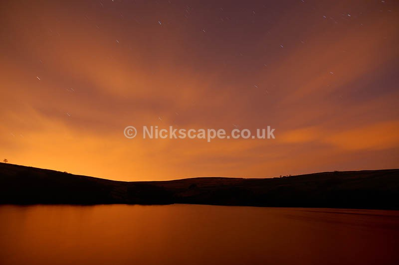 Stary Night Sky at Digley Reservoir | Yorkshire Photography Gallery