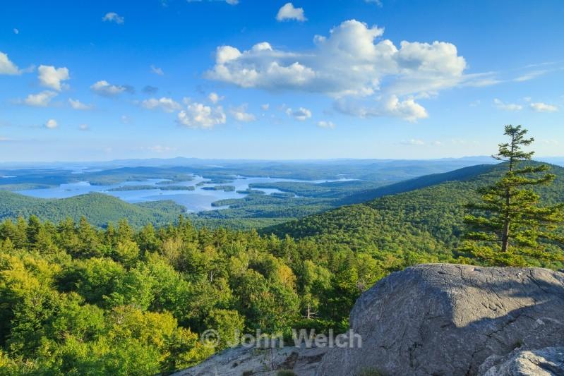 Squam Lake from Mt. Morgan Ledges - Lakes Region & Southern New Hampshire
