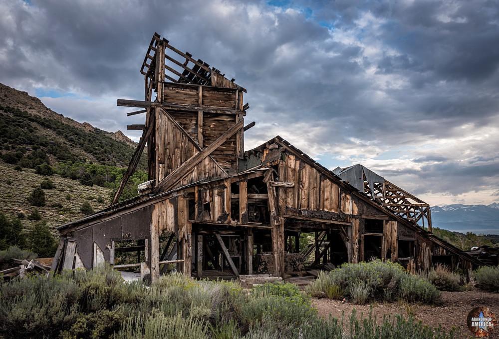 Chemung Mine (Masonic, CA)   Dilapidated - Chemung Mine