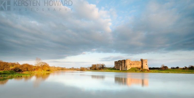 Timeless Reflections - Carew Castle - Inland