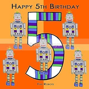 Greeting Cards - Birthday Boy 5