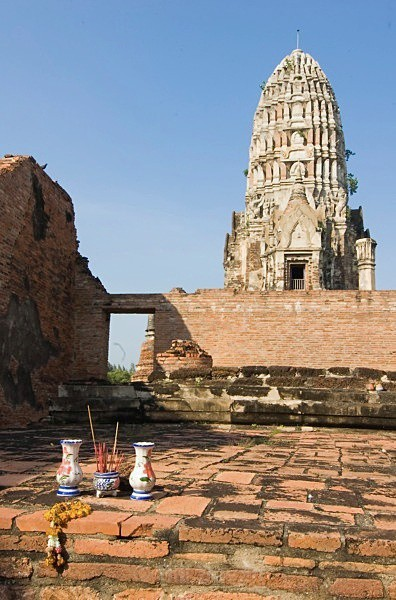 Merit Making - Ayutthaya