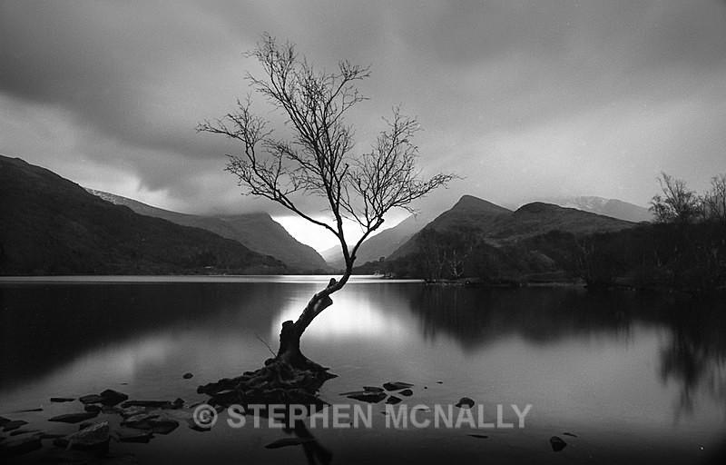 Llyn Pardarn LLanberis - Images made on Film