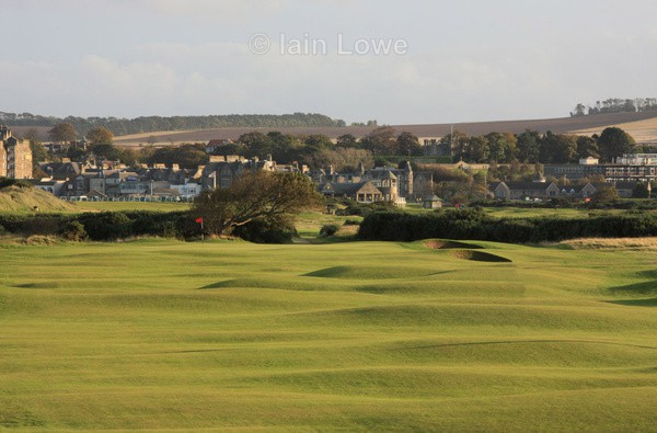 St Andrews New Course 16th Approach - St Andrews New Course