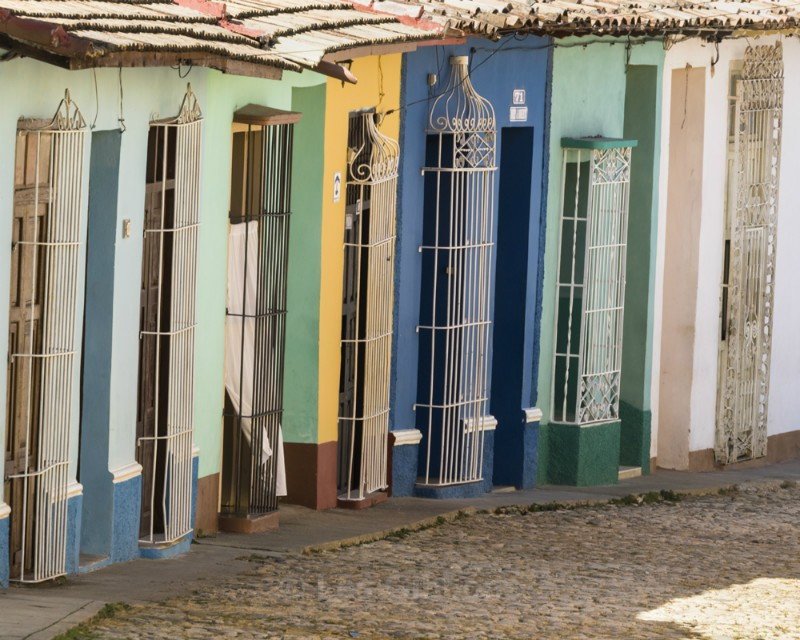 Trinidad windows - Cuba