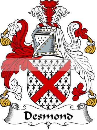 Desmond Family - Heritage Family Name and Coat of Arms Store