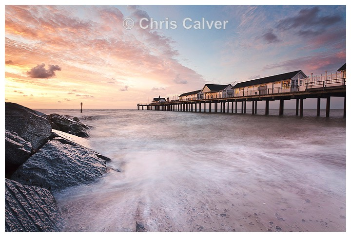 Pier Dawn - Suffolk Seascapes