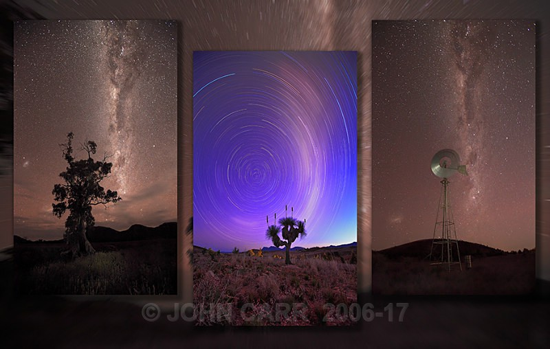 MilkyWay Triptych-3 - MONTAGES
