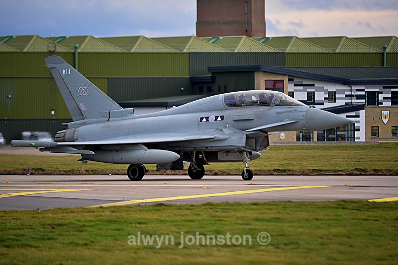 TYPHOON 10 - RAF LOSSIEMOUTH VISIT NOV 2017
