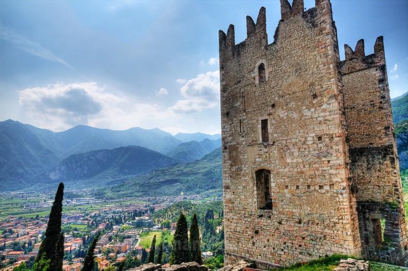 Arco Castle - European Landscapes