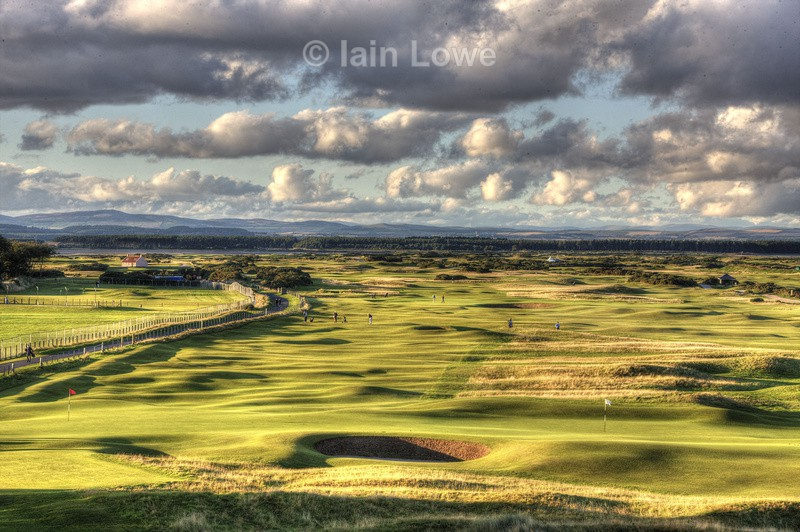 Old Course double-greens HDR - St Andrews Old Course Hole-by-Hole