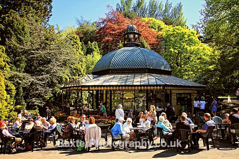 Magnesia Well Cafe In Spring - The Valley Gardens (Harrogate)