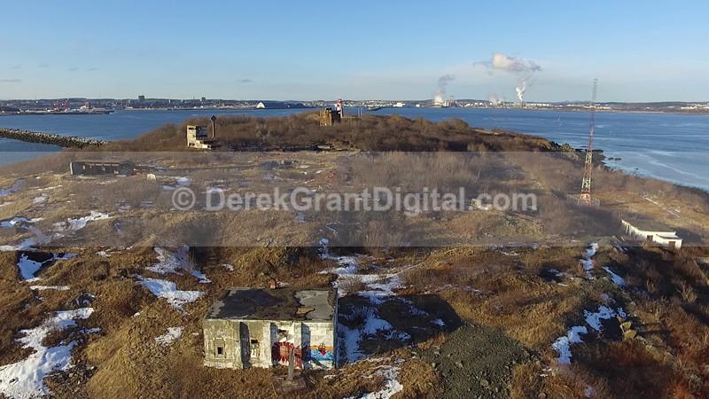 Partridge Island Vista Saint John New Brunswick Canada - Partridge Island National Historic Site