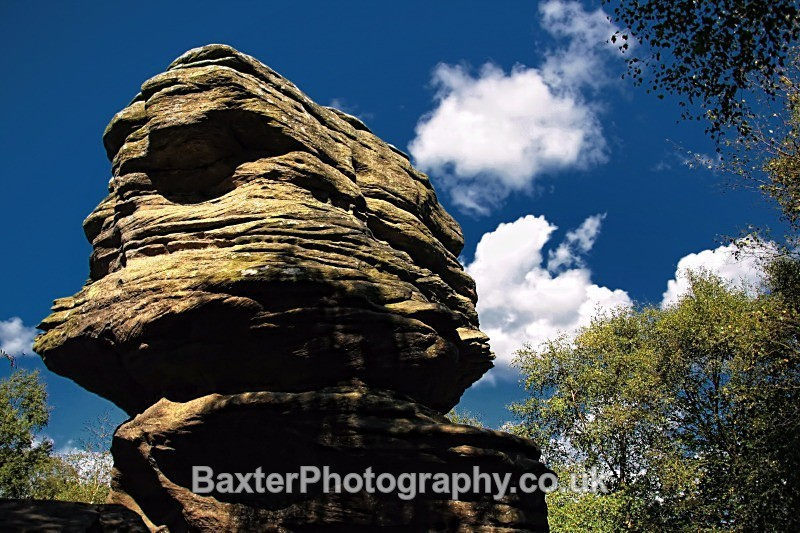 Tower Of Strength - Brimham Rocks and  Bolton Abbey