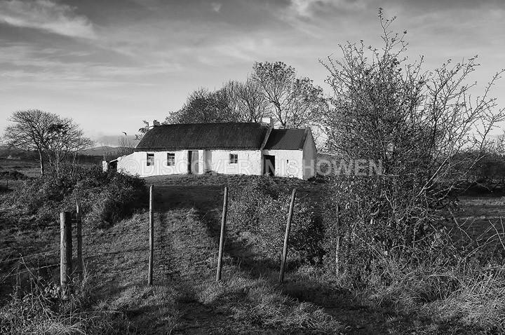 Old cottage - Inishowen peninsula- B&W