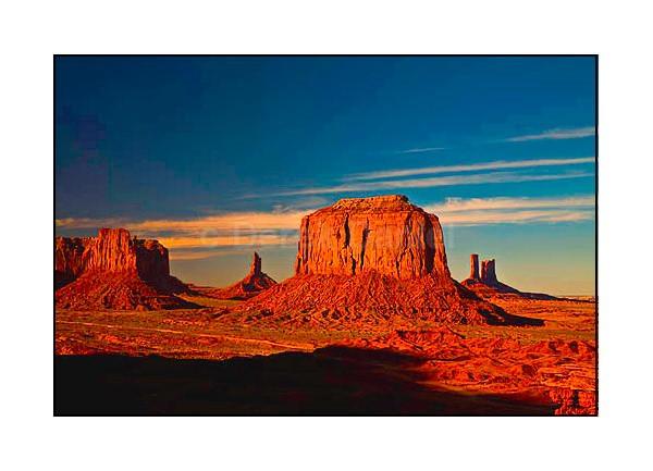 Monument Valley Sunset - Arizona