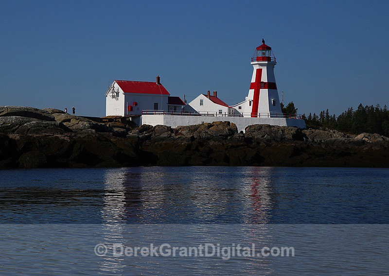 Head Harbor Lighthouse Campobello Island New Brunswick Canada - Lighthouses of New Brunswick