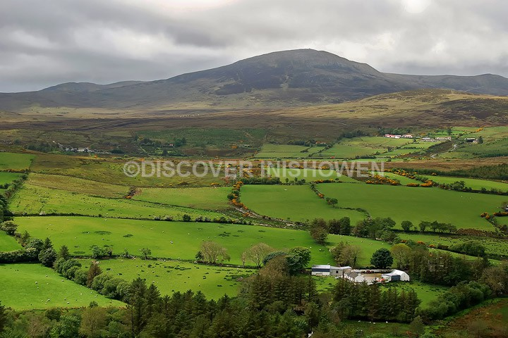 View from Glentogher - Inishowen peninsula