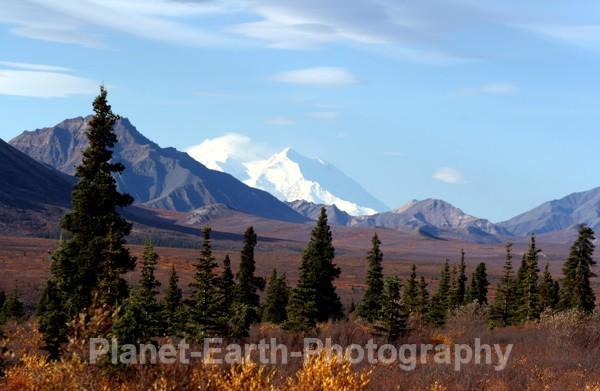 Mount MCkinley from Denali - Alaska & Canada