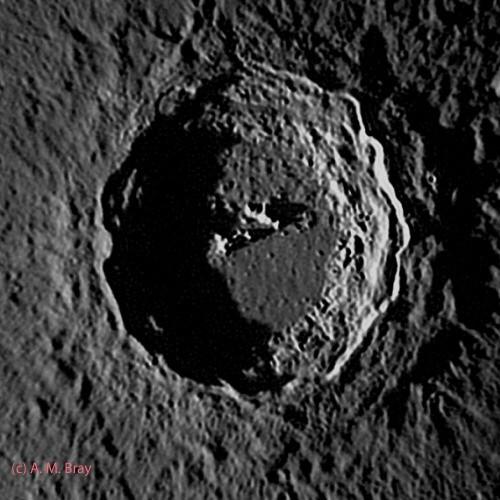 Copernicus at sunrise - Moon: West Region