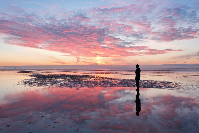 Antony Gormley | Another Place | Crosby Beach Location