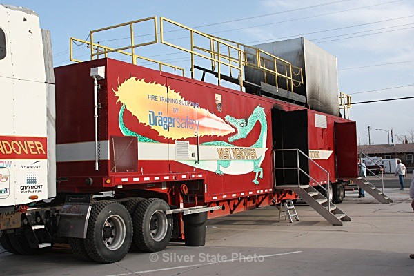 'Burn Trailer' used to train firefighters for structure fires - Fallon/Churchill Fire Department